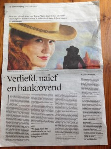 Interview Trouw 1/7/2014