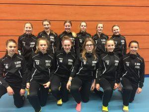 Hockeymeisjes Beumer&Drost DHV